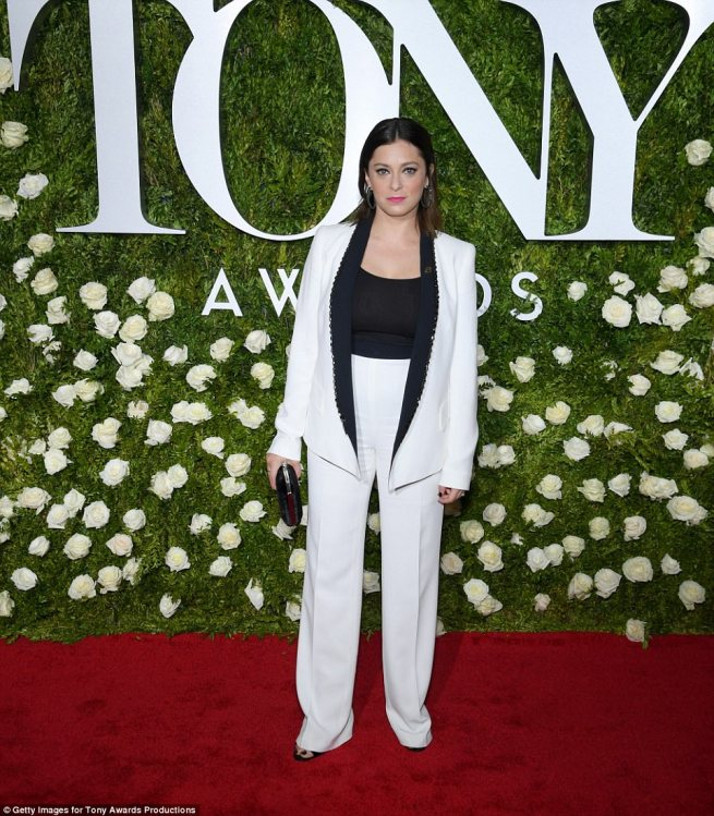 rachel bloom tailored hems on htose pants were needed