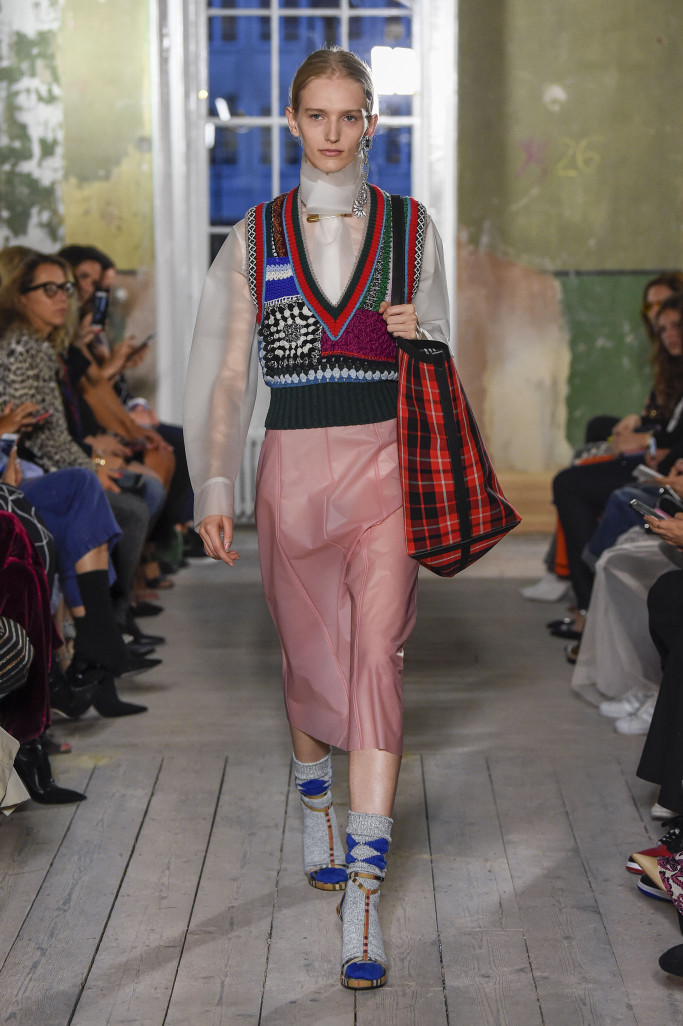 Image result for plastic fashion spring 2018
